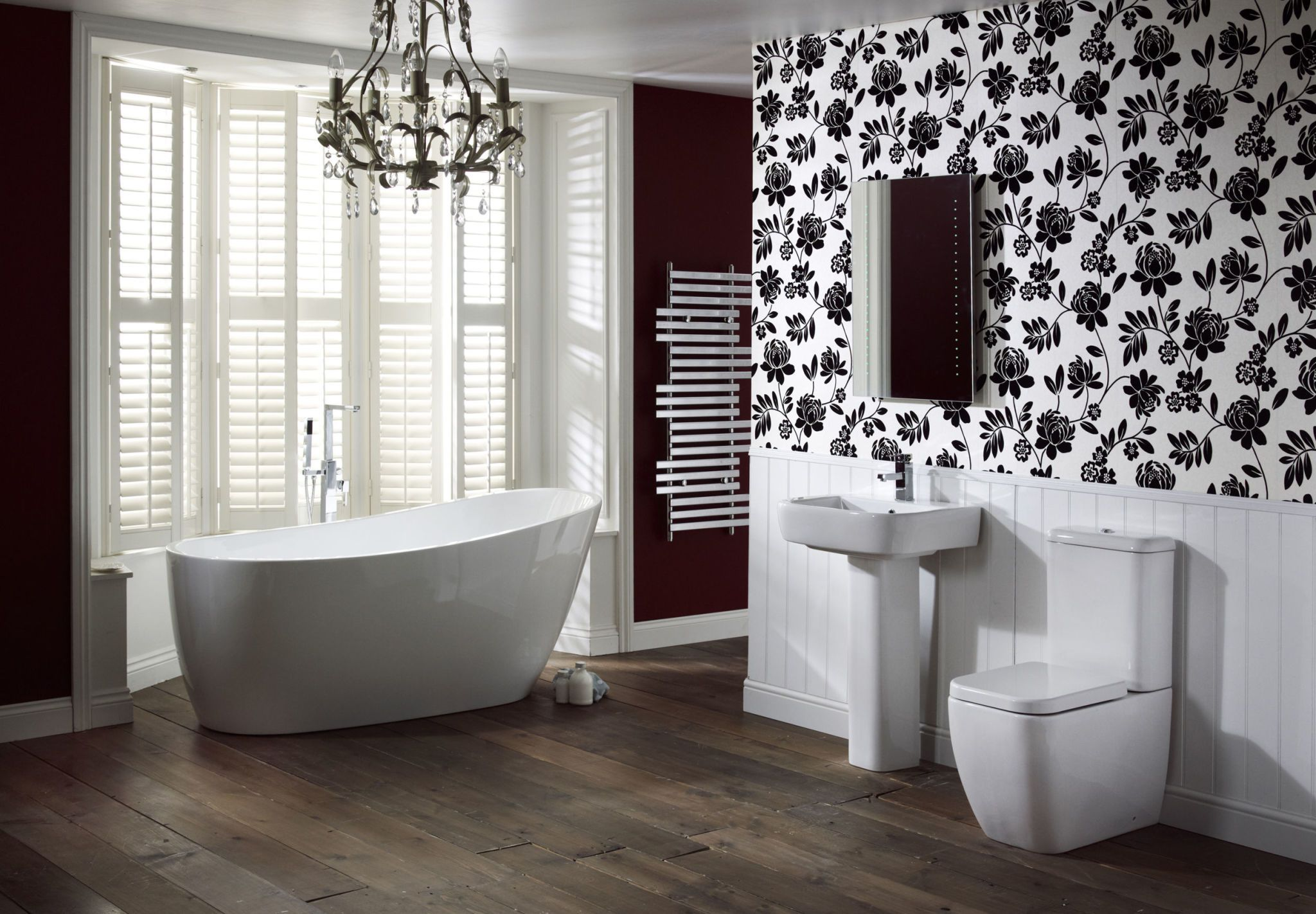 Adella Suite from the Contemporary Collection, Frontline Bathrooms