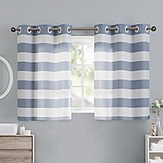 Bathroom Window Curtains Present Complement