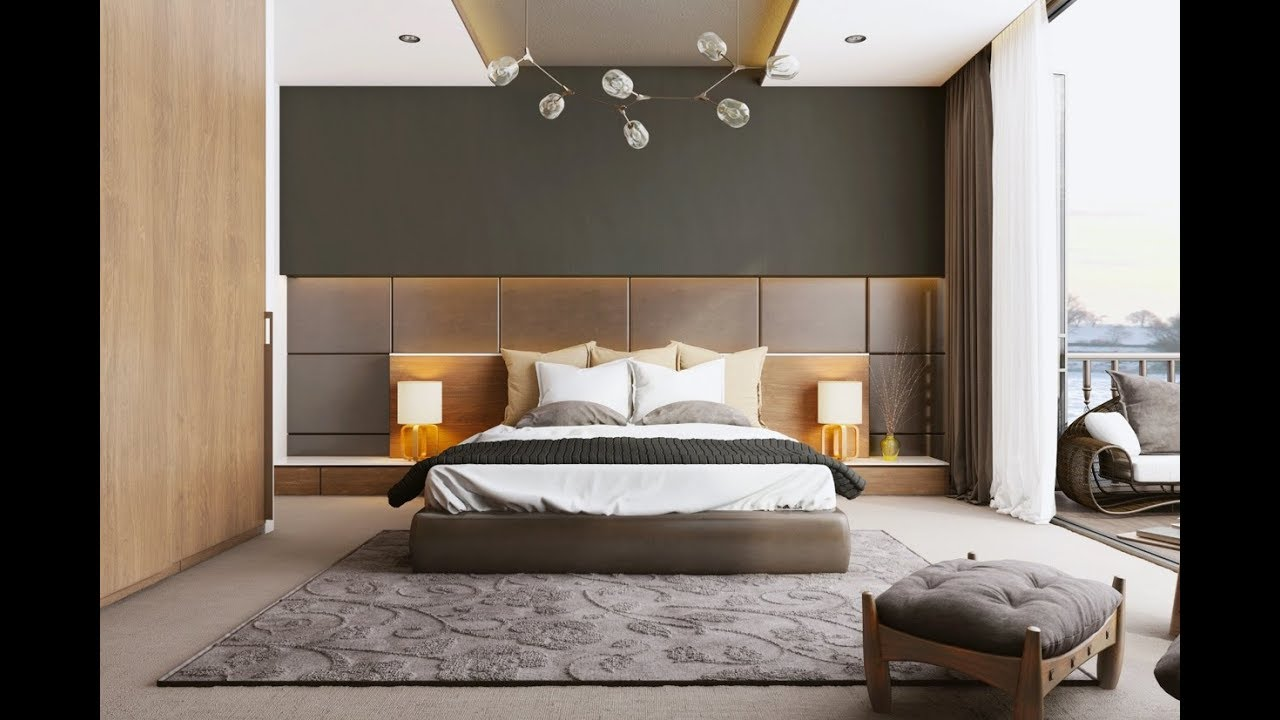 Modern Bedroom Design Ideas 2018 ! How to decorate a bedroom inerior design