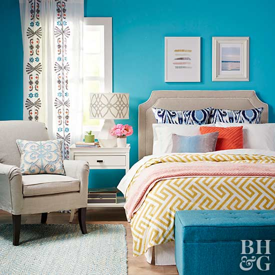 Bright Bedroom Paint Colors