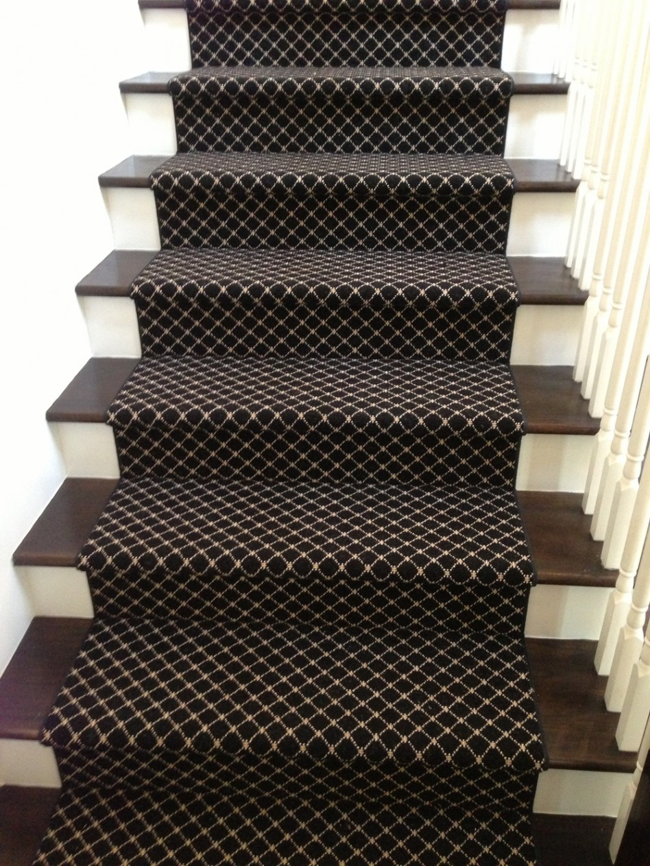 Image of: Dark Stair Runners