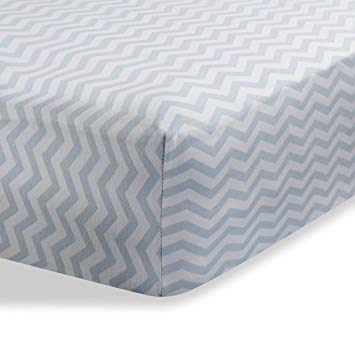 Fitted Knit Crib Sheet - Best Crib Sheet for Baby - Infant | Toddler 100%