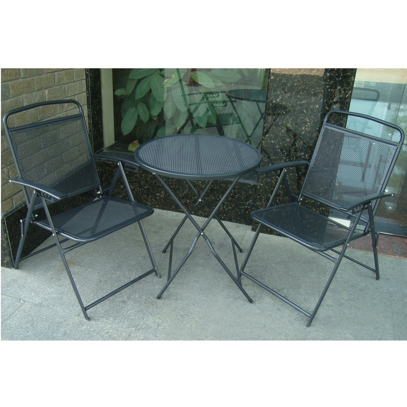 wrought iron patio furniture, bistro set, outdoor furniture