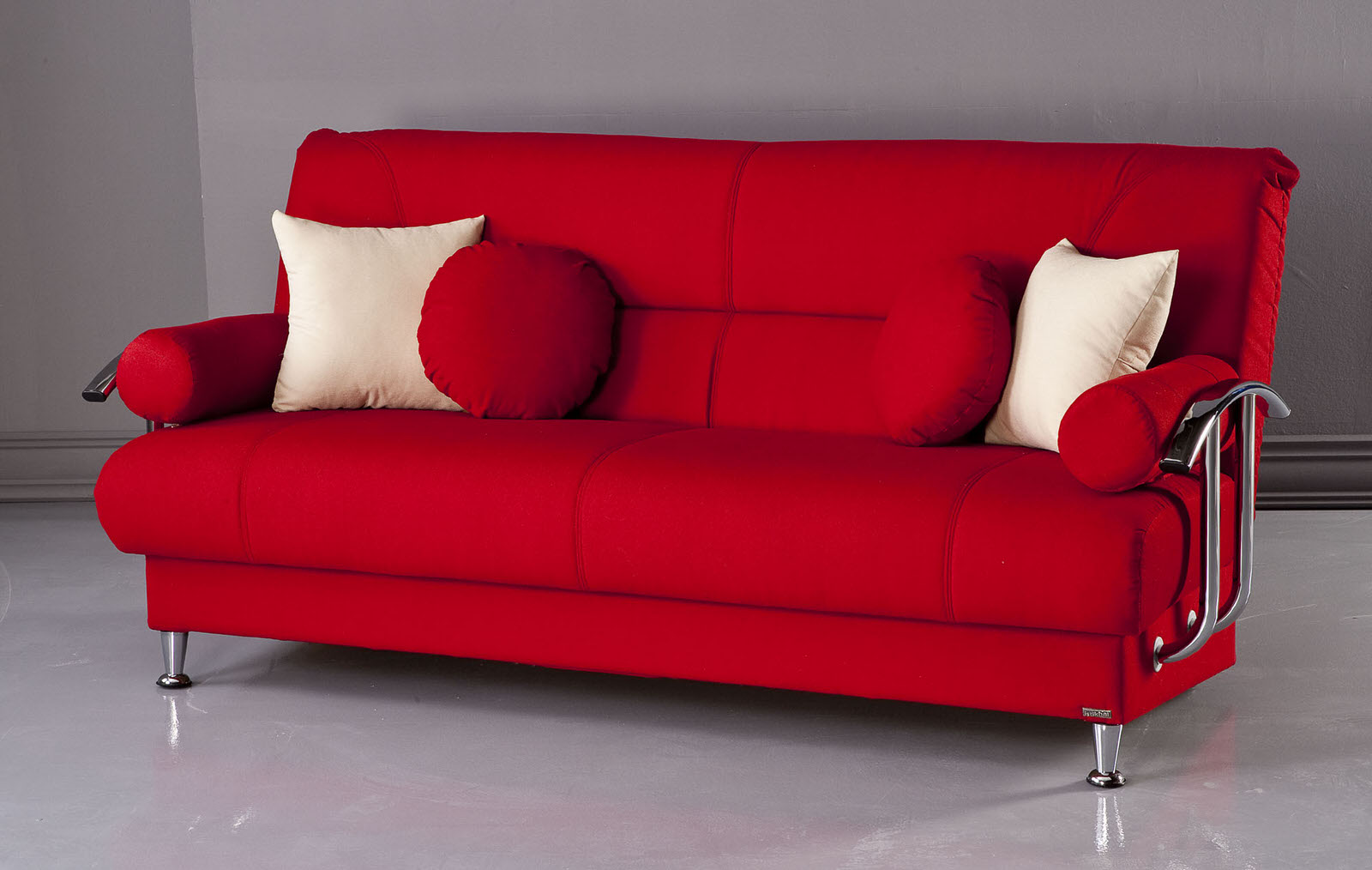 Best Tetris Red Convertible Sofa Bed by Istikbal Furniture (Istikbal  Furniture)