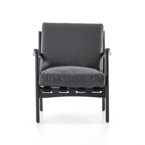 Sia Chair - Black - Pacific Home