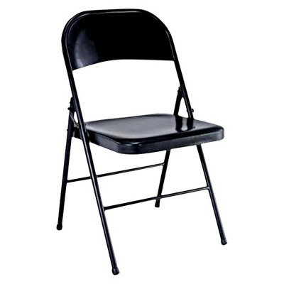 Folding Chair Black - Plastic Dev Group : Target
