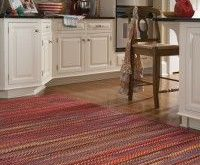 Country Cottage Style Braided Rug love the shape, need to find out how to  trim