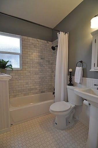 Cool 48 Brilliant Bathroom Remodel Ideas And Makeover Design