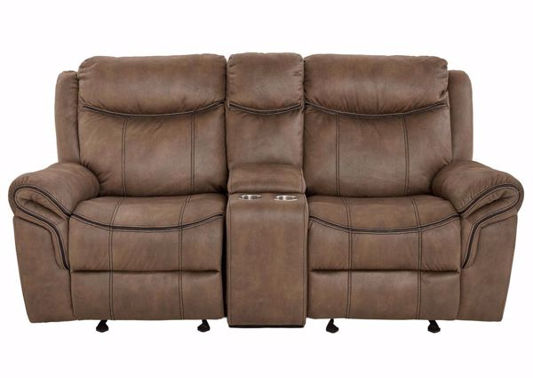Knoxville Reclining Loveseat – Brown