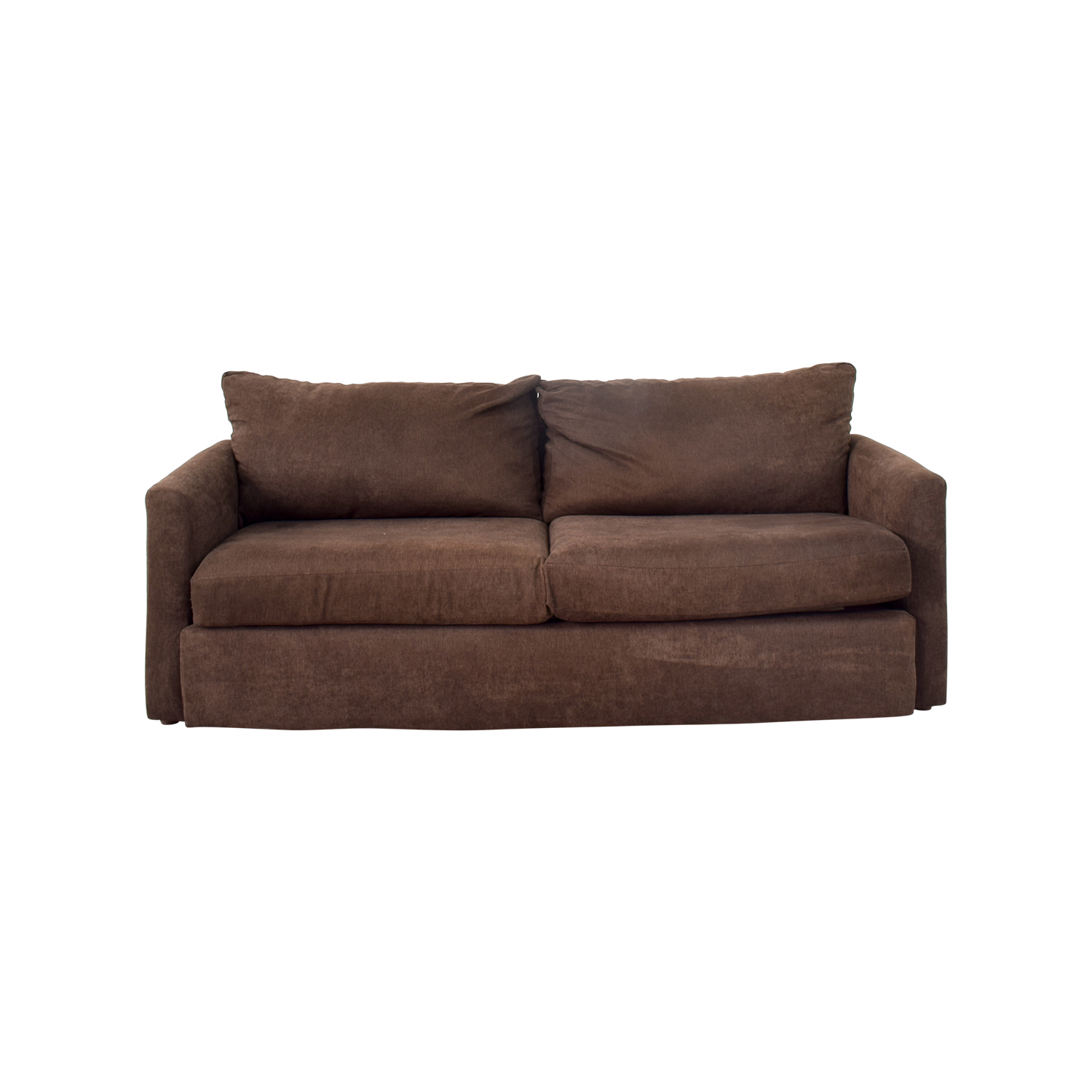 Bobs Furniture Bobs Furniture Brown Loveseat price