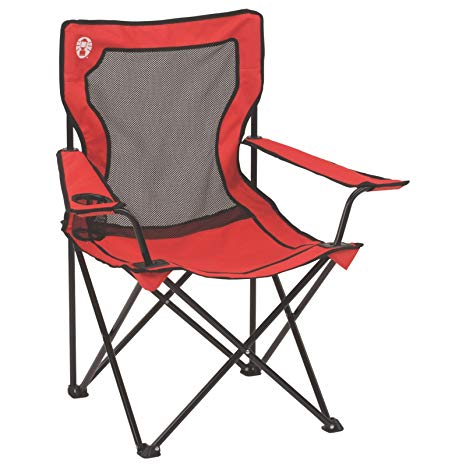 Amazon.com : Coleman Broadband Mesh Quad Camping Chair : Camping