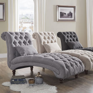 Buy Chaise Lounges Living Room Chairs Online at Overstock | Our Best Living  Room Furniture Deals