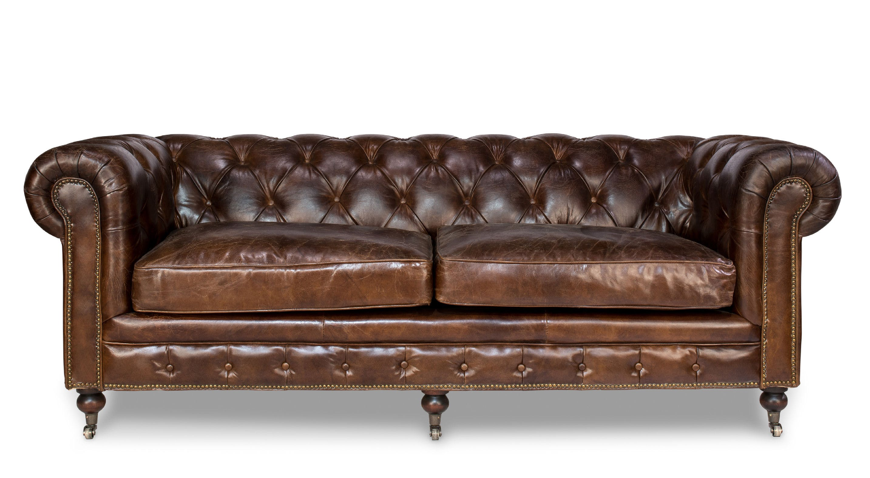 Castered Chesterfield Sofa SA29893