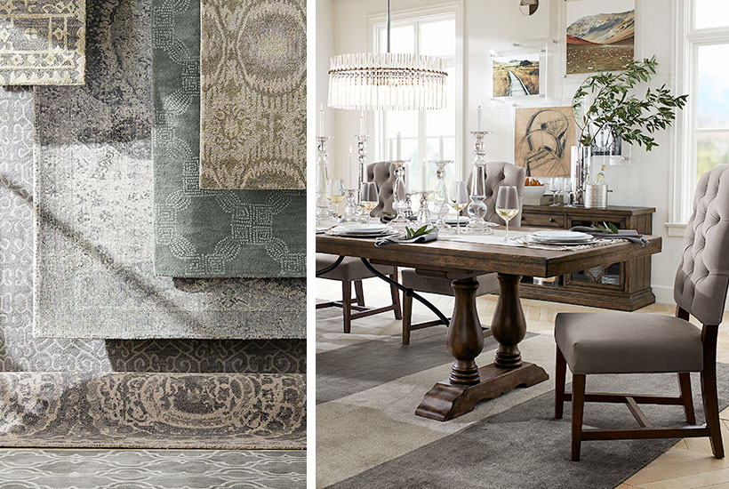 How to Choose the Perfect Rug for Your Dining Room | Pottery Barn