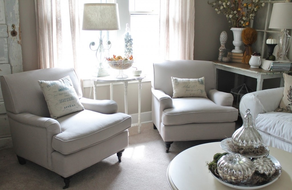 Furniture Comfy White Chairs For Small Spaces In Living Room With Armchairs  Living Room Excellent Armchairs