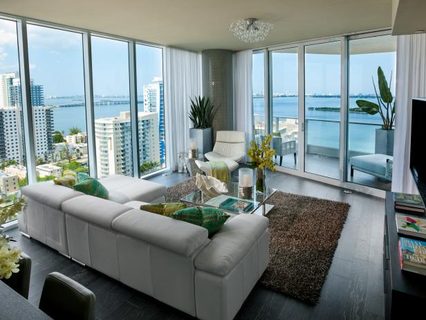 HGTV Urban Oasis 2012: Living Room Pictures 11 Photos