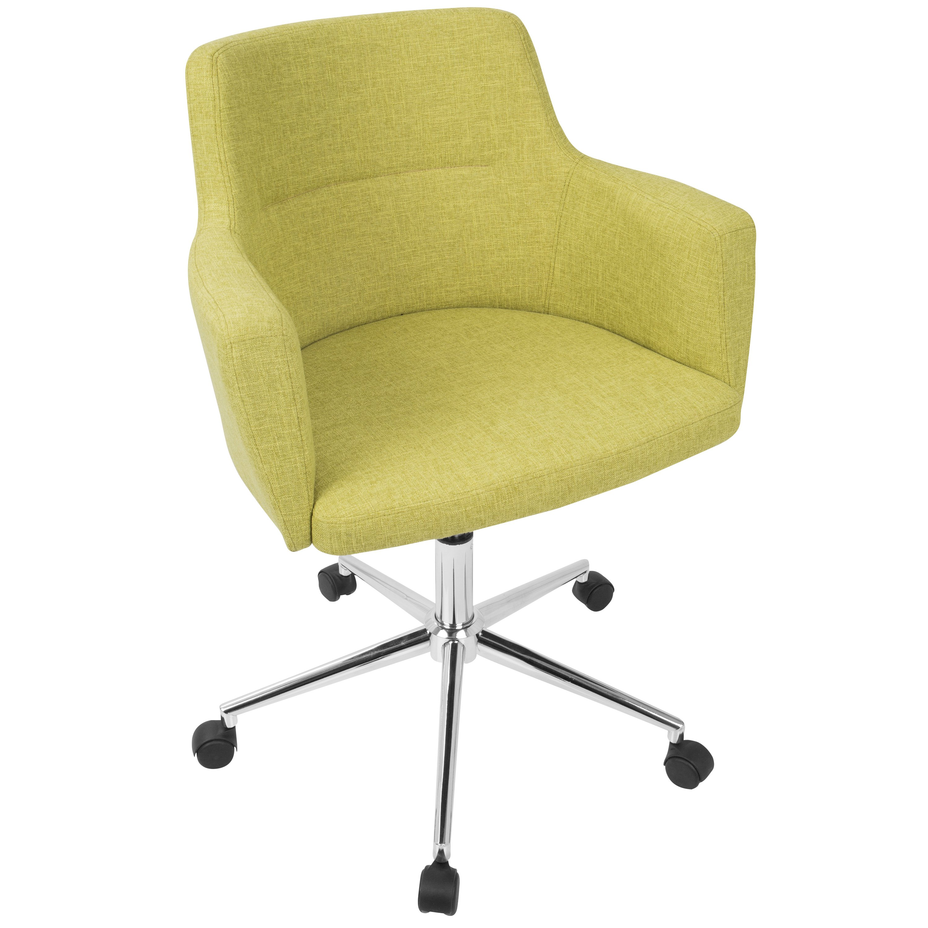 Shop Andrew Contemporary Office Chair in Fabric - On Sale - Free Shipping  Today - Overstock - 16722566