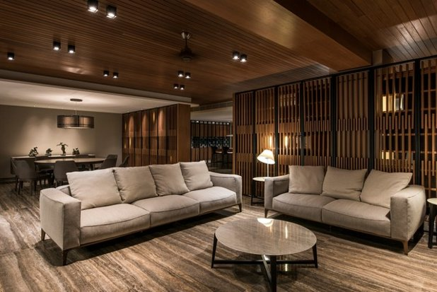 Contemporary Living Room by 7 Interior Architecture