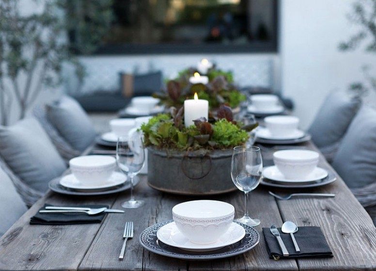 Modern Table Setting Ideas - Freshome - contemporary table setting
