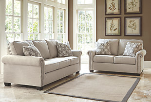 Farouh Sofa and Loveseat,