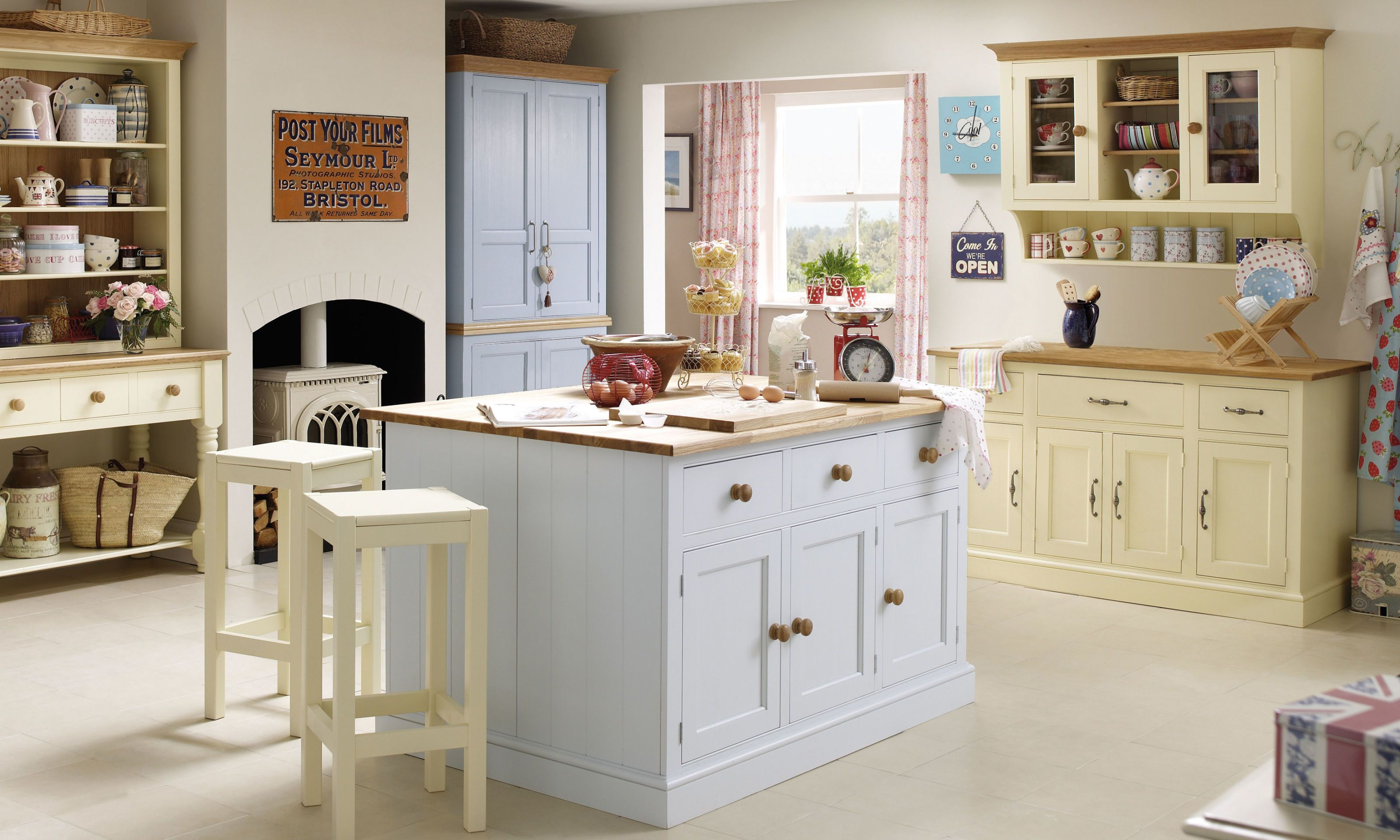 Millbrook Painted Furniture Collection - country kitchen