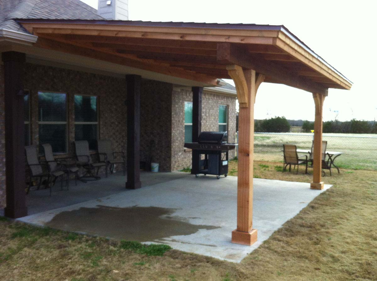 Back Patio Cover Sportwholehousefansco within proportions 1200 X 896
