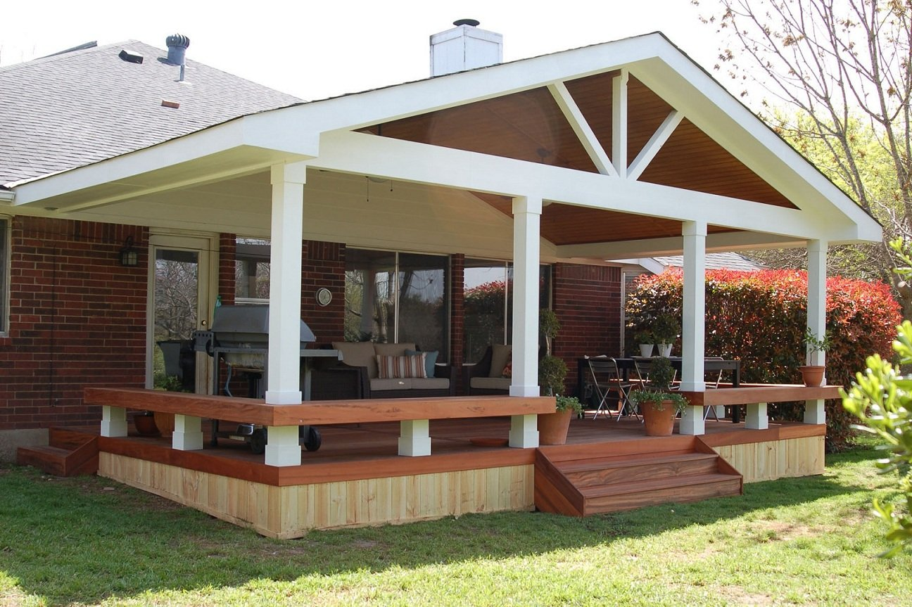 covered patio ideas on a budget
