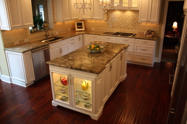 Custom Kitchen Island traditional-kitchen