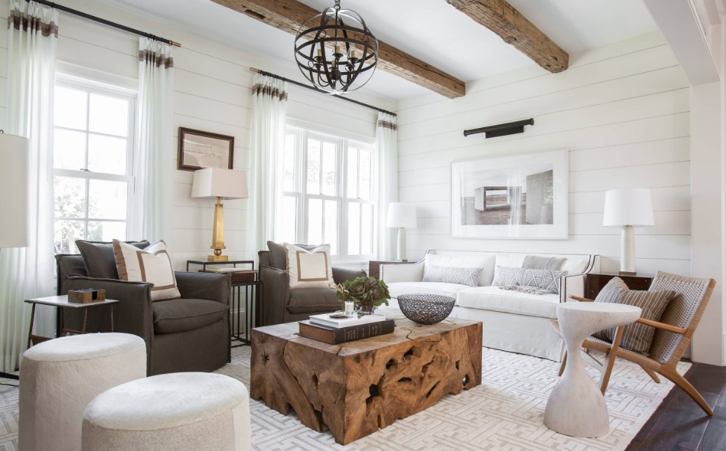 Layer design elements to build visual interest. Image: Marie Flanigan  Interiors