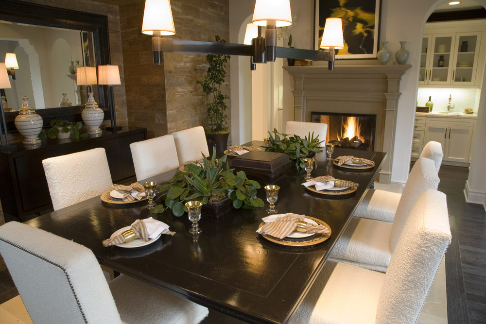 30+ Dining Room Designs with Fireplaces (Photo Gallery) - Home Stratosphere