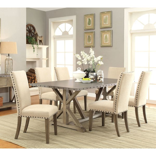 Infini Furnishings Athens 7 Piece Dining Set & Reviews | Wayfair