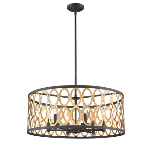 Drum Pendant Lighting: Drum Shade Pendant Lights | Bellacor
