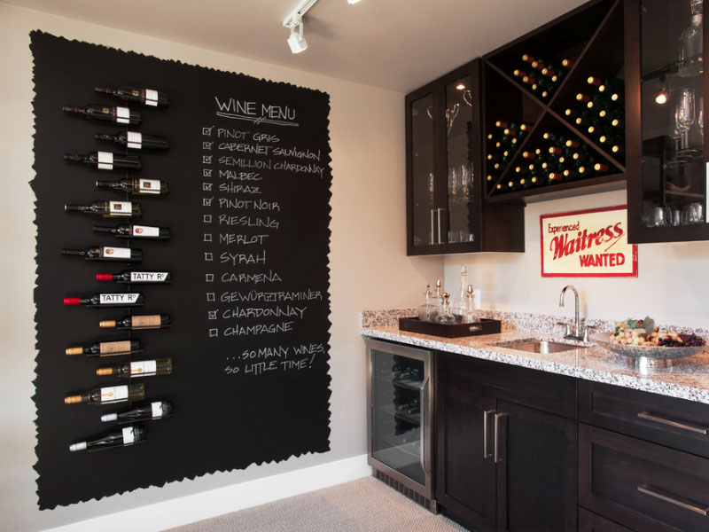 Collect this idea kitchen decorating idea for chalkboard paint