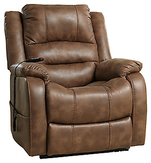 Yandel Power Lift Recliner, Saddle,