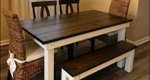 Solid Wood Farm Table