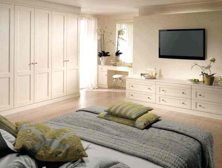 Built In Bedroom Wardrobe Fitted Bedroom Furniture In Alabaster White Built  In Bedroom Wardrobes Dublin