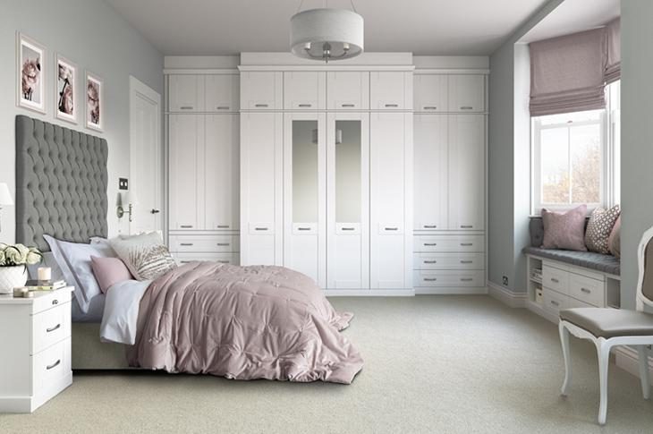 Seton bedroom white