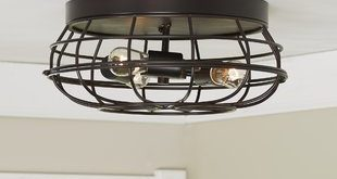 Flush Mount Lighting You'll Love | Wayfair
