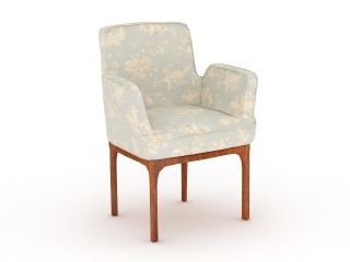 Charlie Armchair 3d model