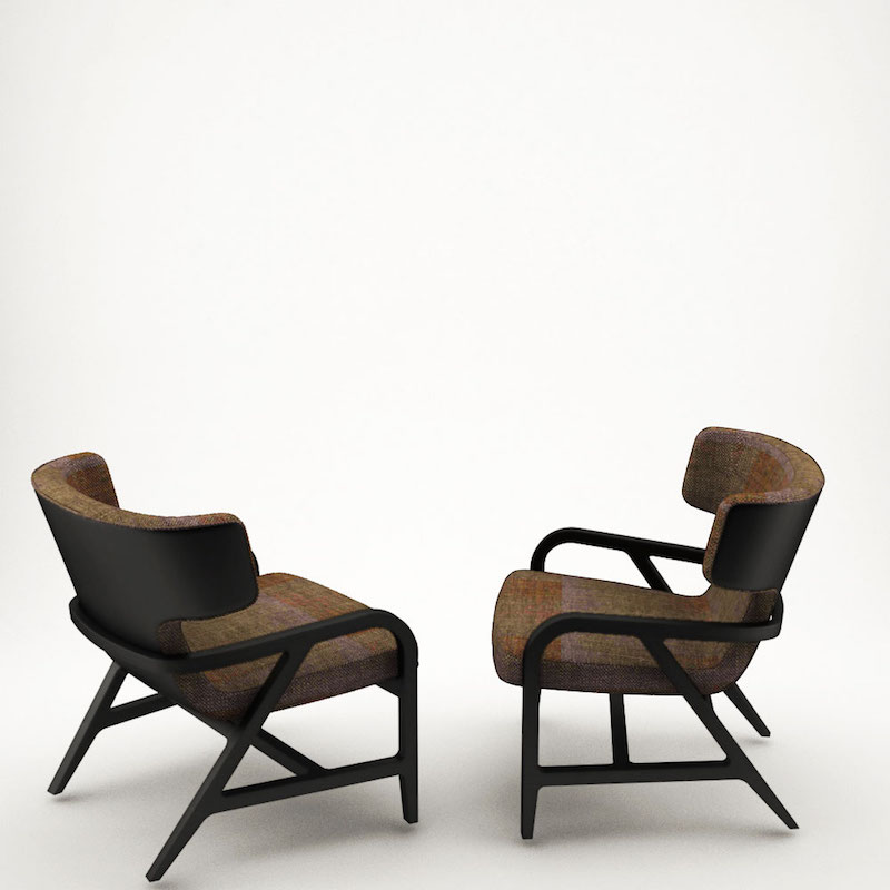 3D armchair free download