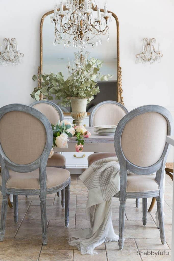 french style furniture dining room decor