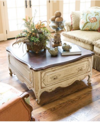 How to get the french country furniture LOOK without paying for the