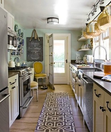 Galley Kitchen Space