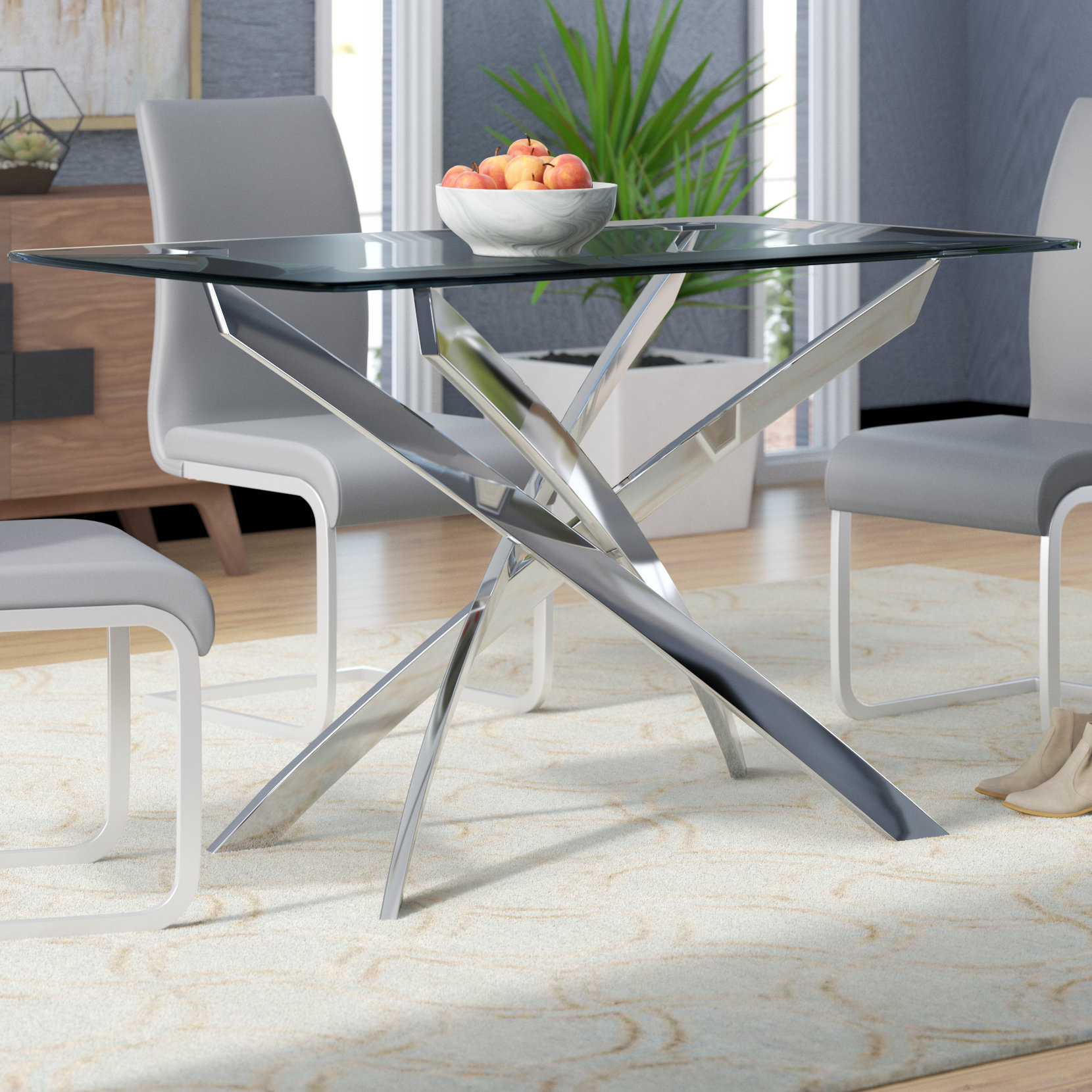 Glass Table Modern