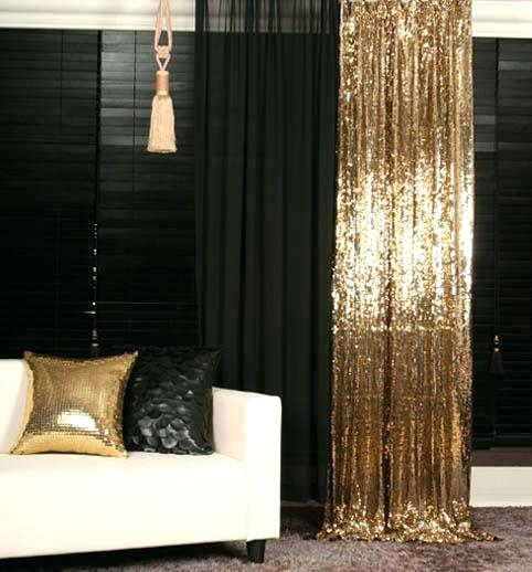 Gold Curtains Bedroom Put Up Temporary Sequin Curtains For You Party Or  Leave Them Up Year Round Gold Curtains Bedroom Ideas
