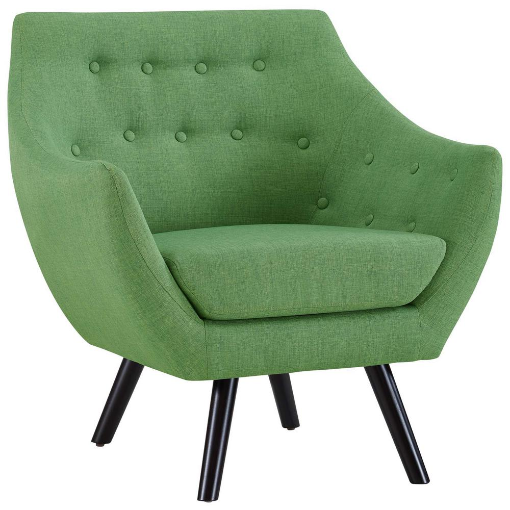 MODWAY Allegory Green Armchair