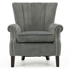Grey Bedroom Chair
