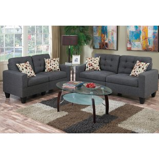 Dark Gray Living Room Set | Wayfair