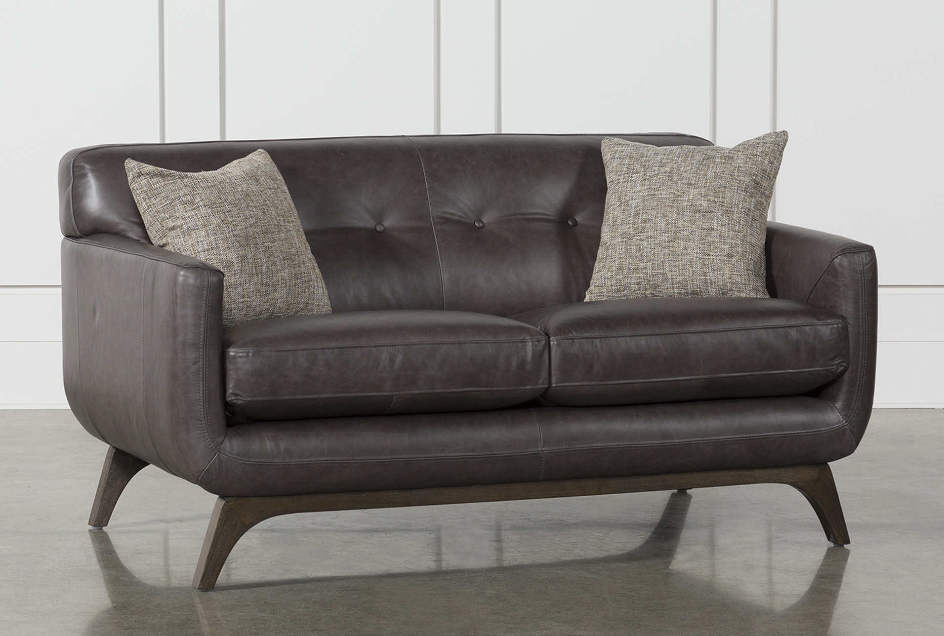Cosette Leather Loveseat (Qty: 1) has been successfully added to your Cart.