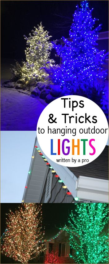 How to Hang Christmas Lights | CrAfTy 2 ThE CoRe~DIY GaLoRe